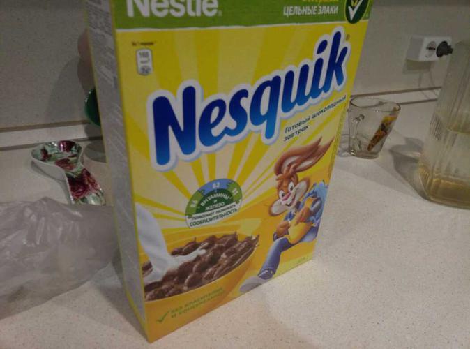 """фото4 Готовый шоколадный завтрак """"Nesquik"""""""