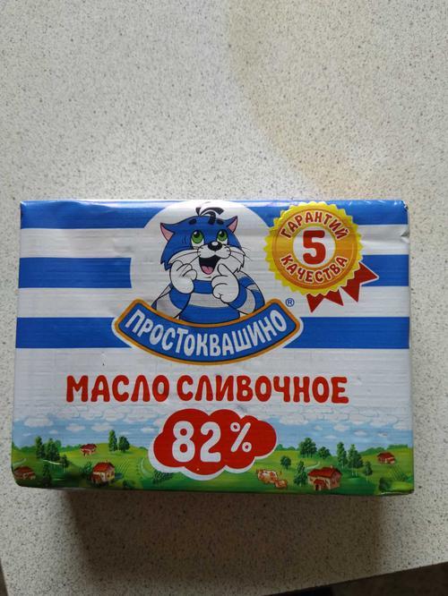 фото1 Масло сливочное Простоквашино массовая доля жира 82%. Высший сорт