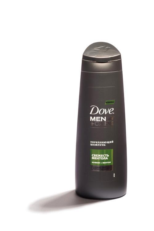 цена Шампунь Dove Men Care Укрепляющий Свежесть ментола (250 мл)