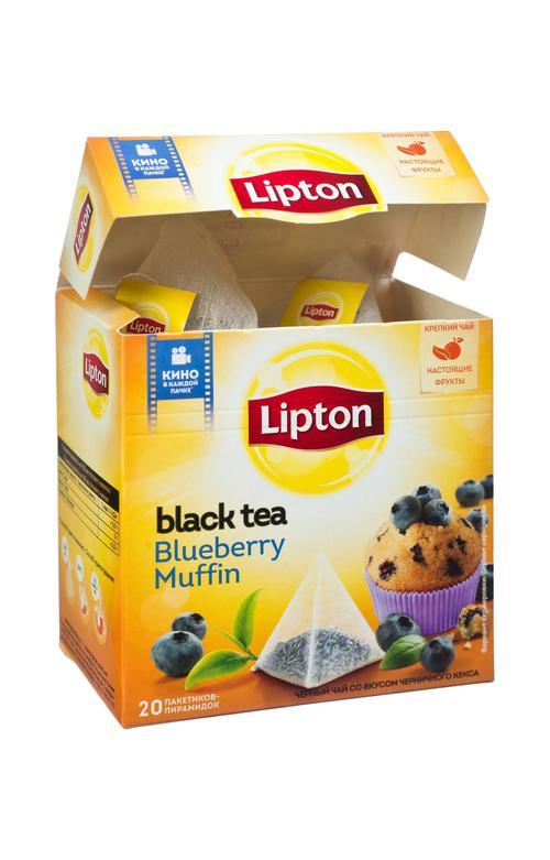 отзыв Чай Lipton черничный кекс