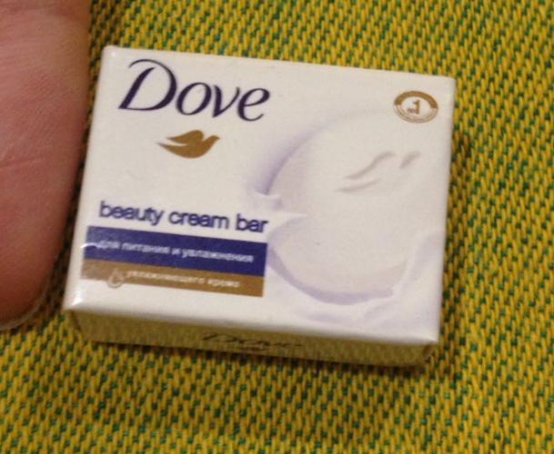 фото4 Крем-мыло DOVE красота и уход, 135г
