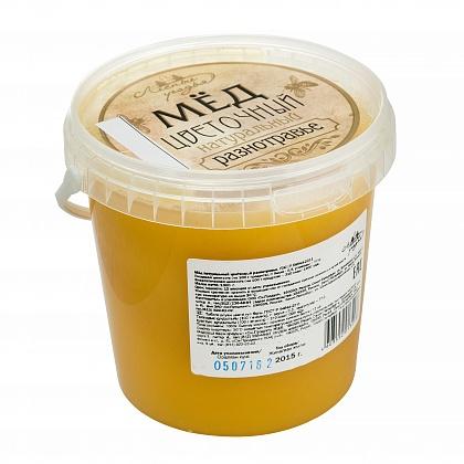 Мёд натуральный цветочный разнотравье
