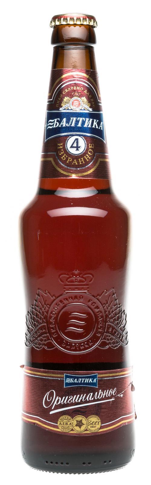 Пиво темное Балтика Оригинальное №4