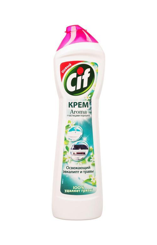 цена Cif Aroma с частицами порошка
