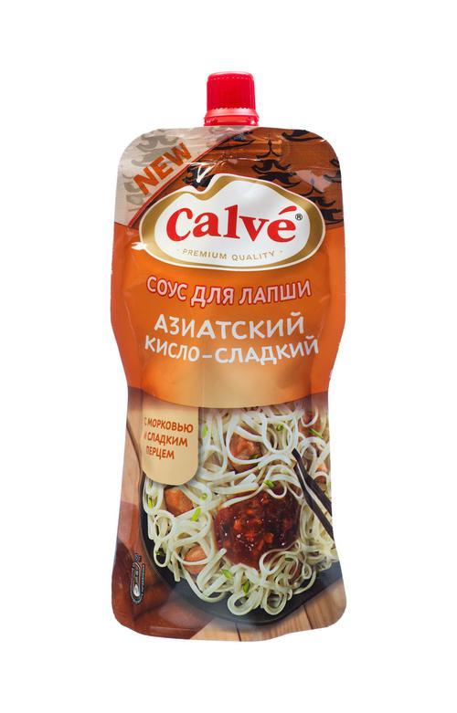 Соус Calve азиатский кисло-сдадкий