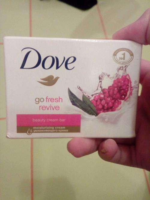 цена Крем–мыло «Dove» с гранатом