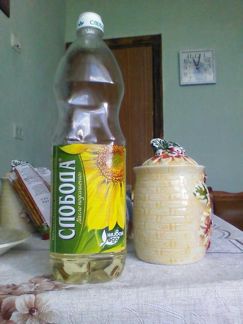 фото15 Масло подсолнечное Слобода рафинированное дезодорированное, 1л.