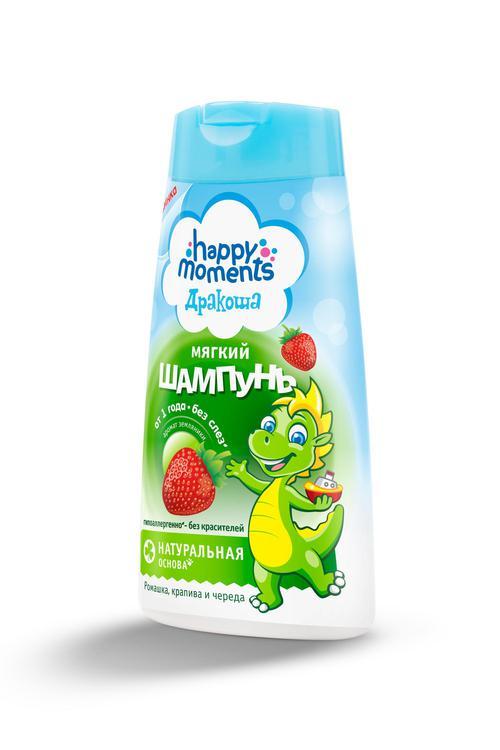отзыв Happy Moments Дракоша Детский Шампунь С Ароматом Земляники