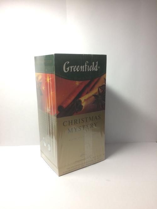 фото3 Чай черный байховый Гринфилд Кристмас Мистери в пакетиках