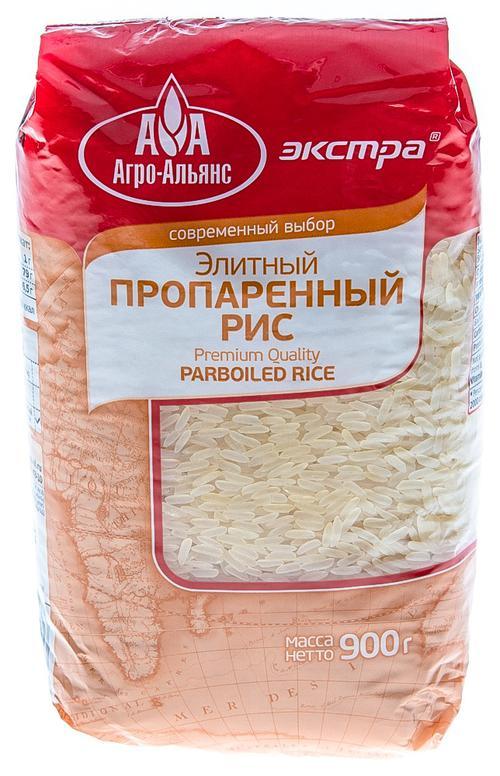 """Рис """"Агро-Альянс"""" пропаренный"""