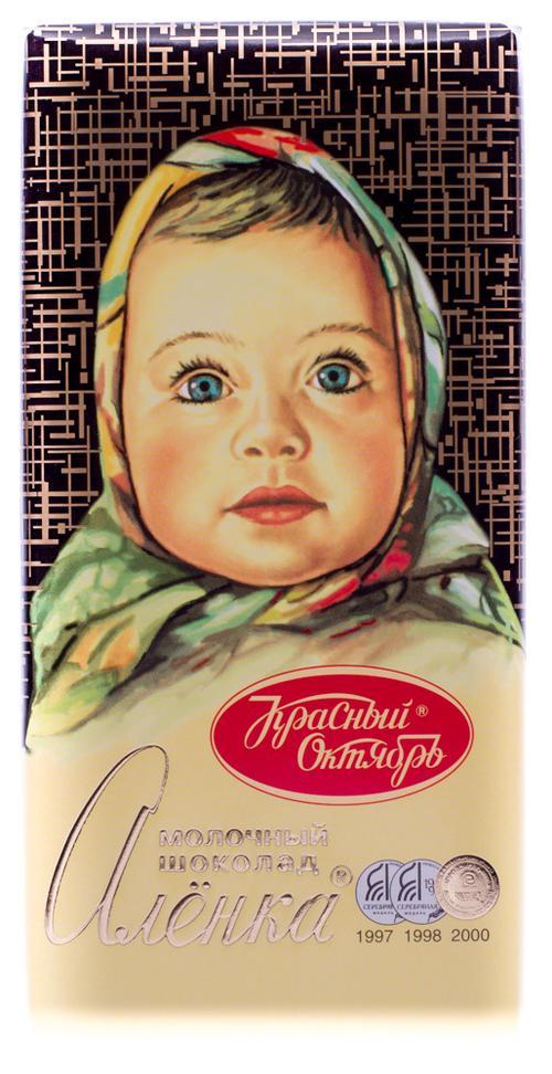 """Шоколад """"Аленка"""" молочный, 100гр."""