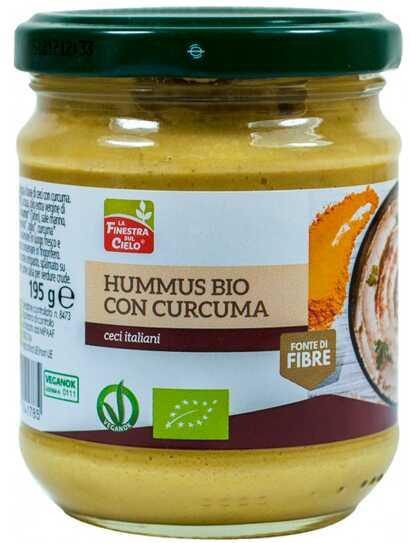 Хумус с куркумой La Finestra органический 195 г