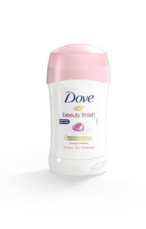 описание Dove. Beauty finish.