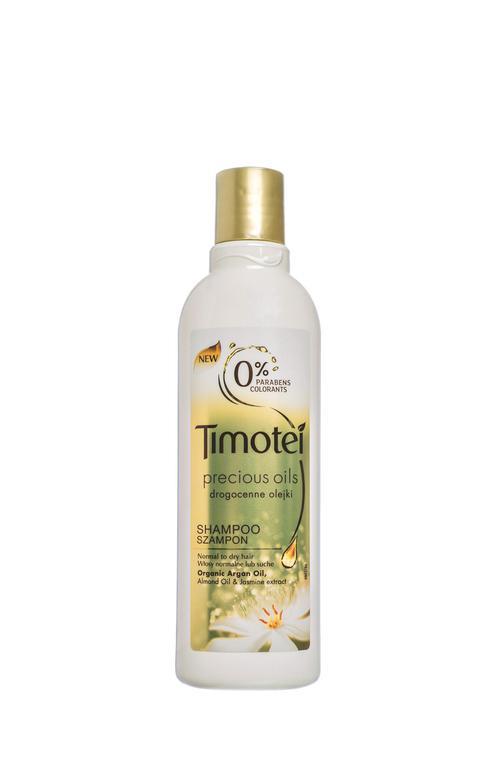 описание Timotei - 0% Parabens - Шампунь для волос с ценными маслами