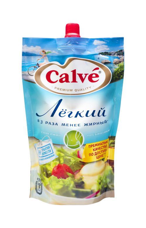 Майонезный соус Calve Легкий 20%