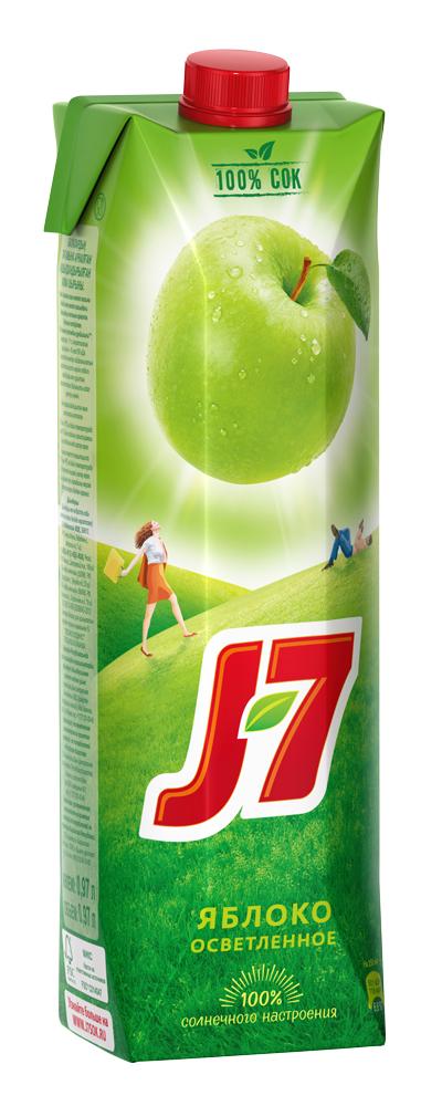 отзыв Сок J7 яблочный