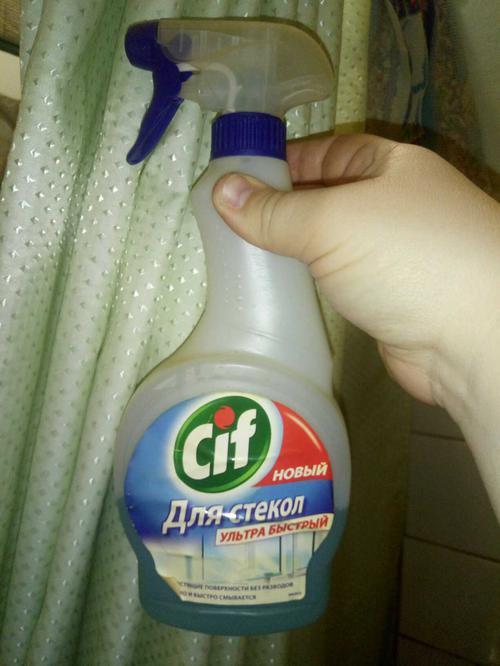 Средство для мытья стекол Cif 500мл