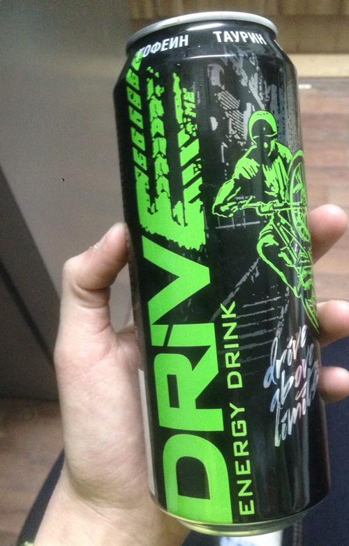 """описание Напиток безалкогольный энергетический тонизирующий газированный """"драйв ми ориджинал"""""""