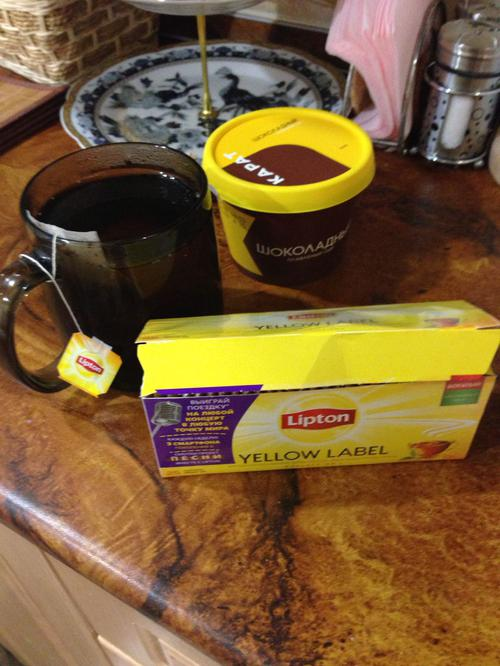 фото6 Чай Lipton Yellow Label черный, 25пак.