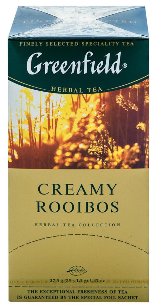 Напиток чайный Гринфилд Крими Ройбош в пакетиках