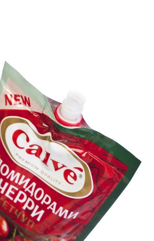 отзыв Calve кетчуп с помидорами Черри 350 г.