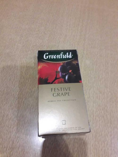 фото Напиток чайный Гринфилд Фестив Грейп в пакетиках