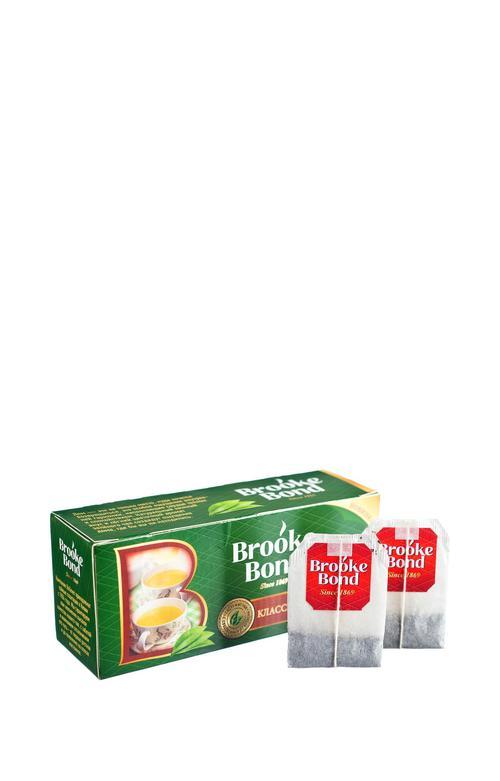описание Чай зеленый байховый brooke bond классический 24x25пx1.8г