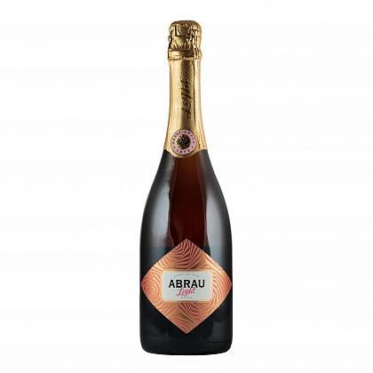 Вино игристое розовое полусладкое Abrau Light
