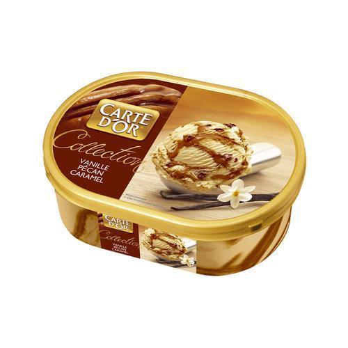 Мороженое мороженое carte dor ванильное с карамельным пеканом 500Г.