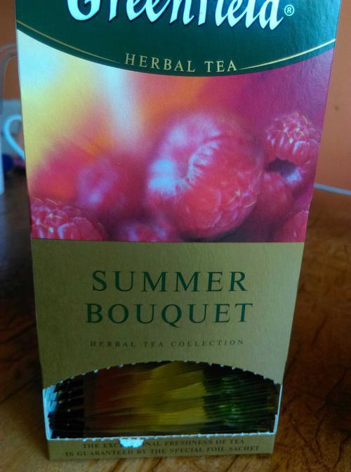 фото7 Напиток чайный Гринфилд Самма Букет в пакетиках