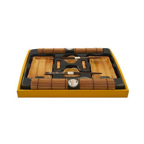 Набор для суши 10 пр. на 2 персоны (керамика, бамбук, дерево)