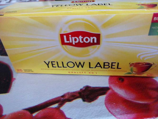 фото2 Чай Lipton Yellow Label черный, 25пак.