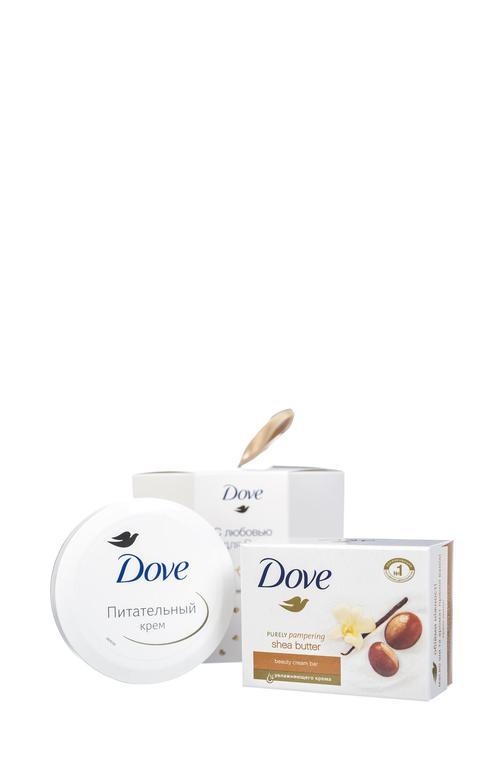 описание Подарочный набор Dove, С любовью для Вас