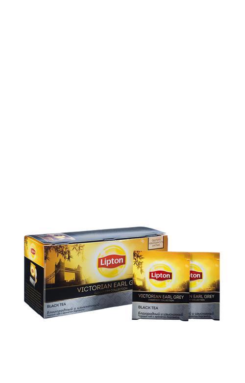 описание Lipton черный чай в пакетиках Victorial Earl Grey 25 шт