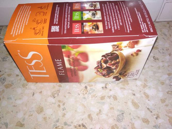 отзыв Напиток чайный Тесс Флэйм в пакетиках