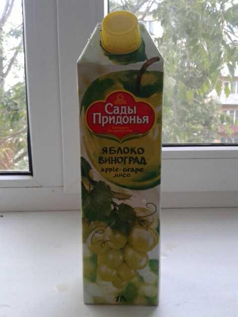 фото2 Сок «Яблоко-виноград»