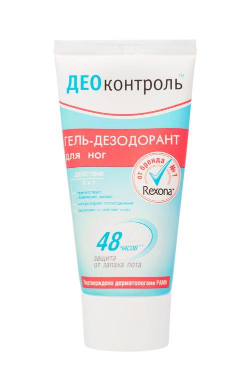 цена Гель-дезодорант для ног деоконтроль