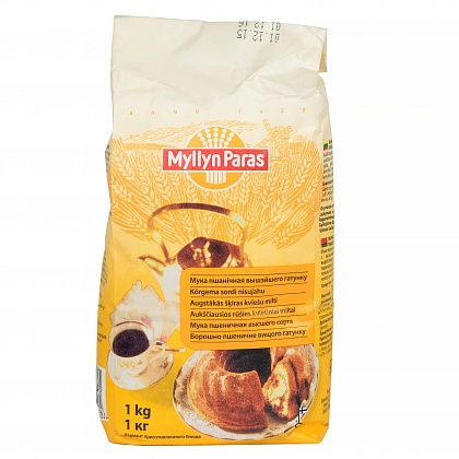 Мука пшеничная высшего сорта «Myllyn Paras»