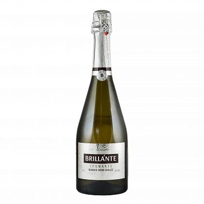 """""""Brillante"""" Вино игристое полусладкое белое"""