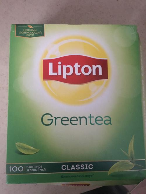 фото Lipton зеленый чай classic 12x100пакx1.7г