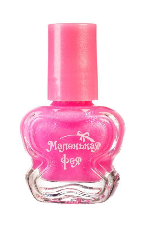 """описание Лак для ногтей """"маленькая фея""""устойчивая формула розовый шелк для девочек"""