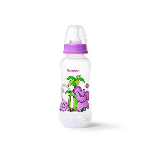 Бутылочка для кормления 300 мл, цвет ФИОЛЕТОВЫЙ (пластик)