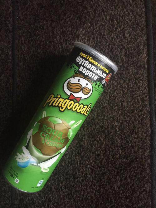 фото5 Чипсы Pringles со вкусом сметаны и лука, 165гр.