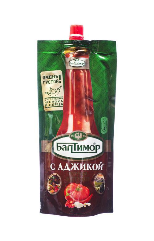 цена Балтимор кетчуп с аджикой, 260 гр