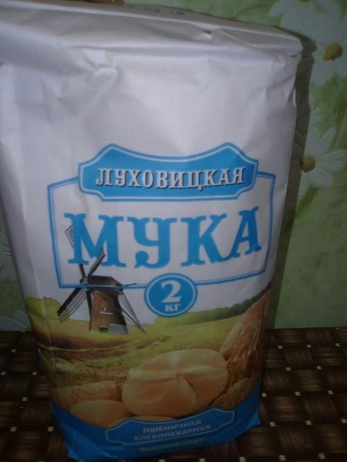 отзыв Мука пшеничная хлебопекарная «Луховицкая» сорт Высший