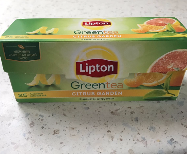 фото5 Lipton CITRUS GARDEN GREEN TEA