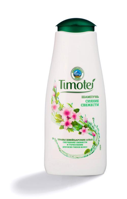"""Шампунь для нормальных волос """"Timotei"""" Сияние свежести, 400мл"""