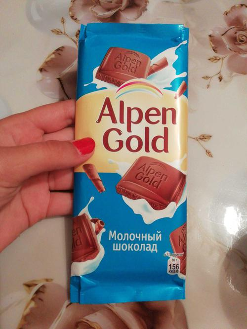фото9 Шоколад Alpen Gold молочный, 90гр.