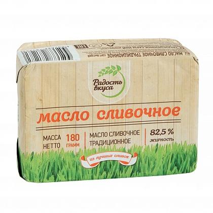 Масло сливочное традиционное с массовой долей жира 82.5%. Высший сорт