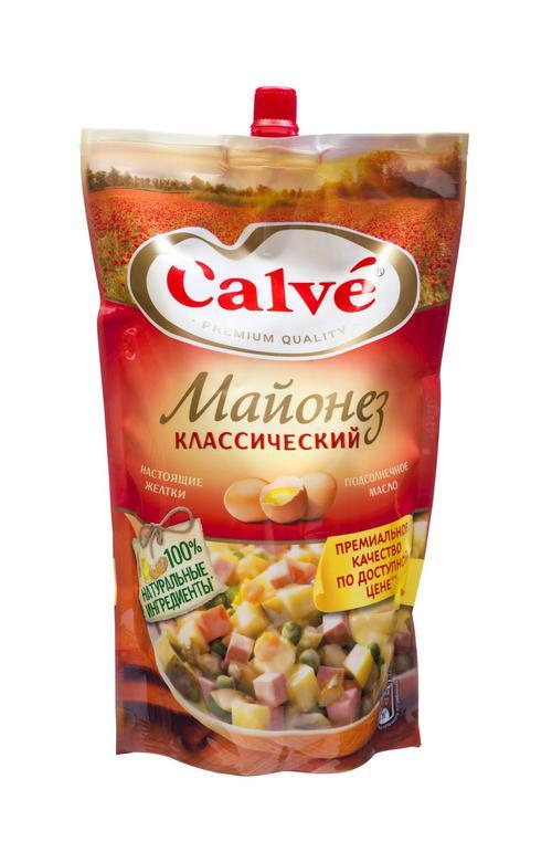 Calve Майонез Классический 50% 700г